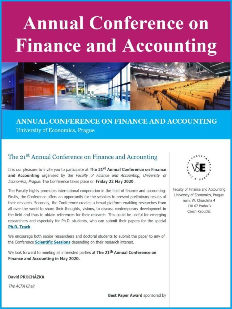 Konference ACFA 2020